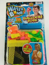 "Toss 'Em Water Bomb Balloon, 18"" Tote Bag & 75 Balloons W/ Quick Fill Nozzle"
