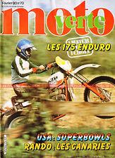 MOTO VERTE  70 KTM 175 GS SWM TF1 Enduro CAN-AM BULTACO Pireneo  Marcel SEURAT