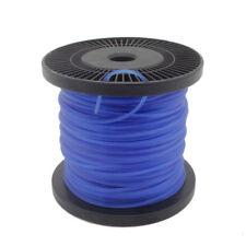 Trimmerfäden Mähfaden Motorsense Nylonfaden Trimmerschnur 2,4mm x 100M  blau