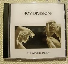 "JOY DIVISION ""THE MARBLE INDEX"" CD RARE RADIO SHOWS, DEMOS, OUTTAKES 1979/1980"