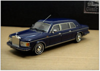 1/43 Rolls-Royce Silver Spur II Touring Limousine, 1992 - 1993 (Blue)
