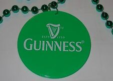Lot of 5....Guinness Beads - Green - St. Patrick's Day....NEW