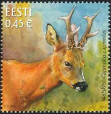 Estonie 2012 Chevreuil/animaux/FAUNE/Nature/conservation 1 V (ee1046)