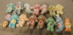 U Pick 1983 1984 Care Bears Plush Stuffed Vtg Cousin Baby Nice Cartoon Kenner