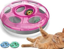 Interactive UFO Cat Ball Toy Cool Indoor Moving Kitten Play Chaser Puzzle Treat