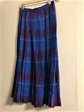 Vintage Rene Portier Wool Pleated Skirt