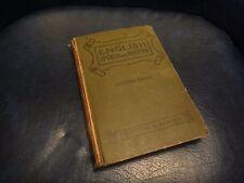 1915 ANTIQUE BOOK, English Spoken and Written  IDA BENDER, HENRY EMERSON