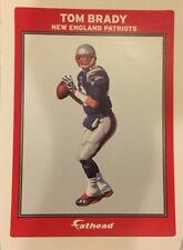 "TOM BRADY #12 New England Patriots QB MVP FATHEAD Small Ad Panel 6"" x 4"" In size"