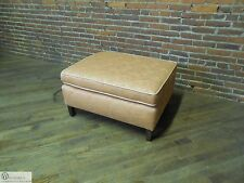 Chinoiserie Decorated Pattern Large Ottoman