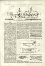 1890 Westinghouse Buffer diagramma Fives-Lille Motore HMS tirsite incidente
