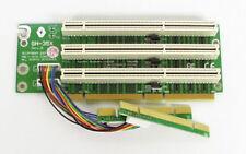 3x 3.3V 64Bit PCI 2U Riser Card. Extender. Adaptor. GH-356