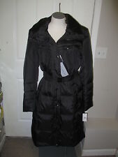 Andrew Marc Mogul Clo Long Down Coat XL Black NWT