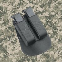 Fobus Double Magazine Paddle Pouch For Ruger SR22 - 6922