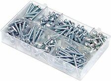 MINI BOX SELF TAPPING SCREWS-POZI PAN HEAD SIZES 8-12 A04080 QTY 200
