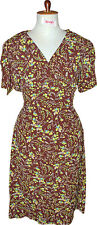 ROBE VINTAGE RETRO GUINGUETTE SEXY PIN UP FLOWERY LINDY HOP ANNEES 1940 1950