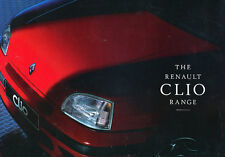1996 1997  Renault Clio Sales Brochure Catalog UK