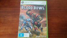 Blood Bowl (Microsoft XBOX 360) Complete Warhammer Football Bloodbowl