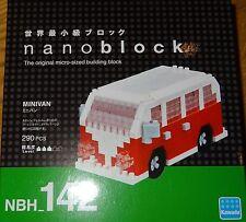 Minivan Nanoblock Micro-Sized Building Block Construction Toy Mini Block NBH142