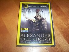 ALEXANDER THE GREAT Conqueror Ancient Greek Wars NATIONAL GEOGRAPHIC DVD NEW