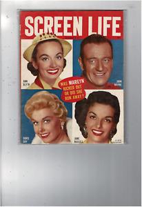 SEP 1955 SCREEN LIFE MAGAZINE ANN BLYTH JOHN WAYNE DORIS DAY JANE RUSSELL MS2211