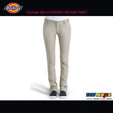 NEW DICKIES GIRLS BLACK HH874SK LOWRIDER SKINNY LEG PANTS NWT WITH TAGS WOMENS