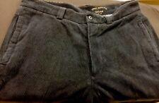 Tommy Bahama Navy Corduroy Cord Pants Size 34 x 34