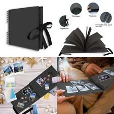 FunSponsor Scrapbook Photo Album with Black Page , Great for Craft