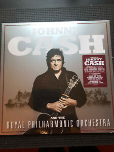 JOHNNY CASH and the Royal Philharmonic Orchestra 2020 VINYL LP  new & sealed