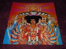 Jimi Hendrix Axis Bold As Love 1967 UK Track Mono1st W/Insert Exceptional Copy!