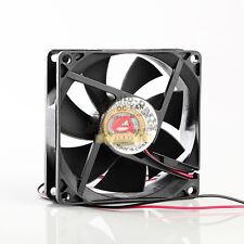 Motor-One DC Cooling Fan 12V 0.22A, 45 CFM 2600 RPM, 80mm x 25mm 220mA BF512