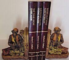 Vintage Pair of Animal Monkey, Gorilla Ape Bookends 1998 CBK LTD