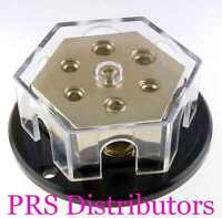 Distribution Block 0 2 1 Gauge in 0 2 1 Gauge Out Four 4 Gauge Out Power Ground