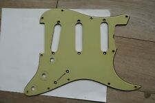 62 Fender Stratocaster Nitrate Celluloid Mint Green Pickguard USA 60 61 62 Relic