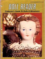 Doll Reader Magazine August September 1979 China Dolls Ruhamah von Hof Museum