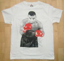 T-Shirt Weiß Gr. L (52/54) Champ Iron Mike Tyson Boxen Rundhals *NEU*