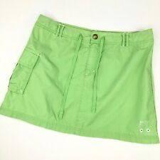 Nautica Beach Women's Size 10 Apple Green Mini Skirt Drawstring Beach Coverup