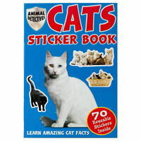 Cats Sticker Book - Children's activity book for kids... and Adults too!