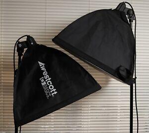 """Westcott Basics uLite 2x photo light kit with 20"""" softbox"""