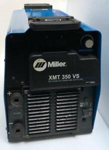 MILLER XMT 350 VS DC INVERTER ARC WELDER WITH AUTO-LINE 208-575V (FOR PARTS) 5