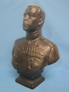 Field Marshal Govorov. Bust of the Hero. Sculpture. Monument. Figurine. USSR.