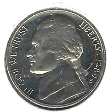 1989-S San Francisco Proof Strike Jefferson Nickel Five Cent Coin!