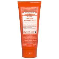 Dr Bronner Organic Tea Tree Shaving Soap - 208ml