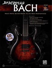Shredding Bach Guitar TAB Book and CD Rock Metal