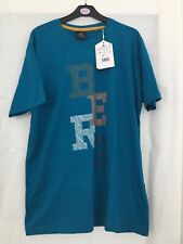 Berg Outdoor Blue T Shirt Mens Size Large Bnwt
