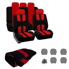 Universal Car Seat Covers Set Breathable Auto Seat Protectors For SUV Truck Van