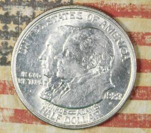 1923-S MONROE COMMEMORATIVE SILVER HALF DOLLAR COLLECTOR COIN