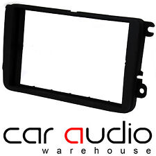 VW Polo 2009 On MK5 6R 6C on Car Stereo Double Din Fascia Panel CT24VW06