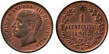 1 CENTESIMO 1904 ITALIEN FIOR DI CONIO ROSSO ECCEZIONALE (UNC) ITALY