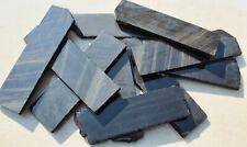 Set of 6 Assorted Dacite Rough Slabs Blanks Knapping Knife Arrowhead Obsidian