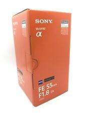 NEW SONY Sonnar T* FE 55mm F1.8 ZA Lens for Full-Frame E Mount (SEL55F18Z)